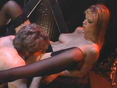 Stocking Clad Pornstar